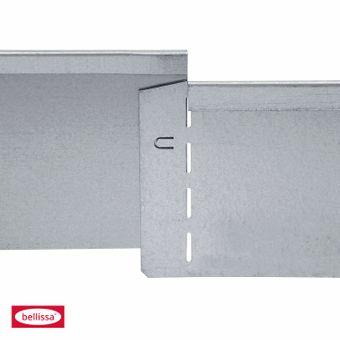 bellissa Rasenkante Metall verzinkt 118x13 cm biegsam – Bild $_i