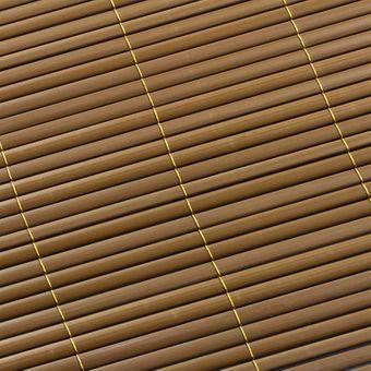 Sichtschutzmatte / Sichtschutzzaun 180x500 braun – Bild $_i