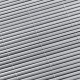 Sichtschutzmatte / Sichtschutzzaun 180x500 grau