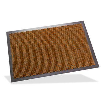 Schmutzfangmatte Fußmatte Fußabtreter Türmatte Spektrum 60x80 cm braun