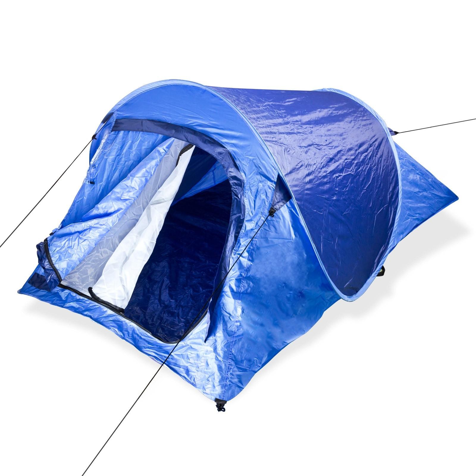 Dema Wurfzelt Pop Up Zelt Faltzelt für 2 Personen Campingzelt Festivalzelt 43244
