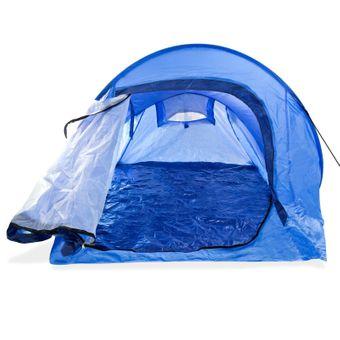 Wurfzelt Pop Up Zelt Faltzelt für 2 Personen Campingzelt Festivalzelt – Bild $_i