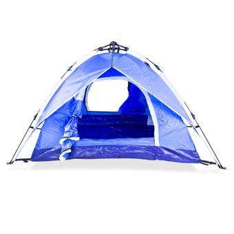 Trekkingzelt Campingzelt Zelt Igluzelt Kuppelzelt für 2 Personen Tatra Blau – Bild $_i