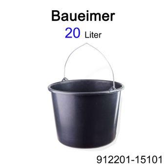 Mörtelkübel Mörtelwanne Baueimer 12 - 90 Ltr Maurerkübel Zementeimer Mörteleimer – Bild $_i