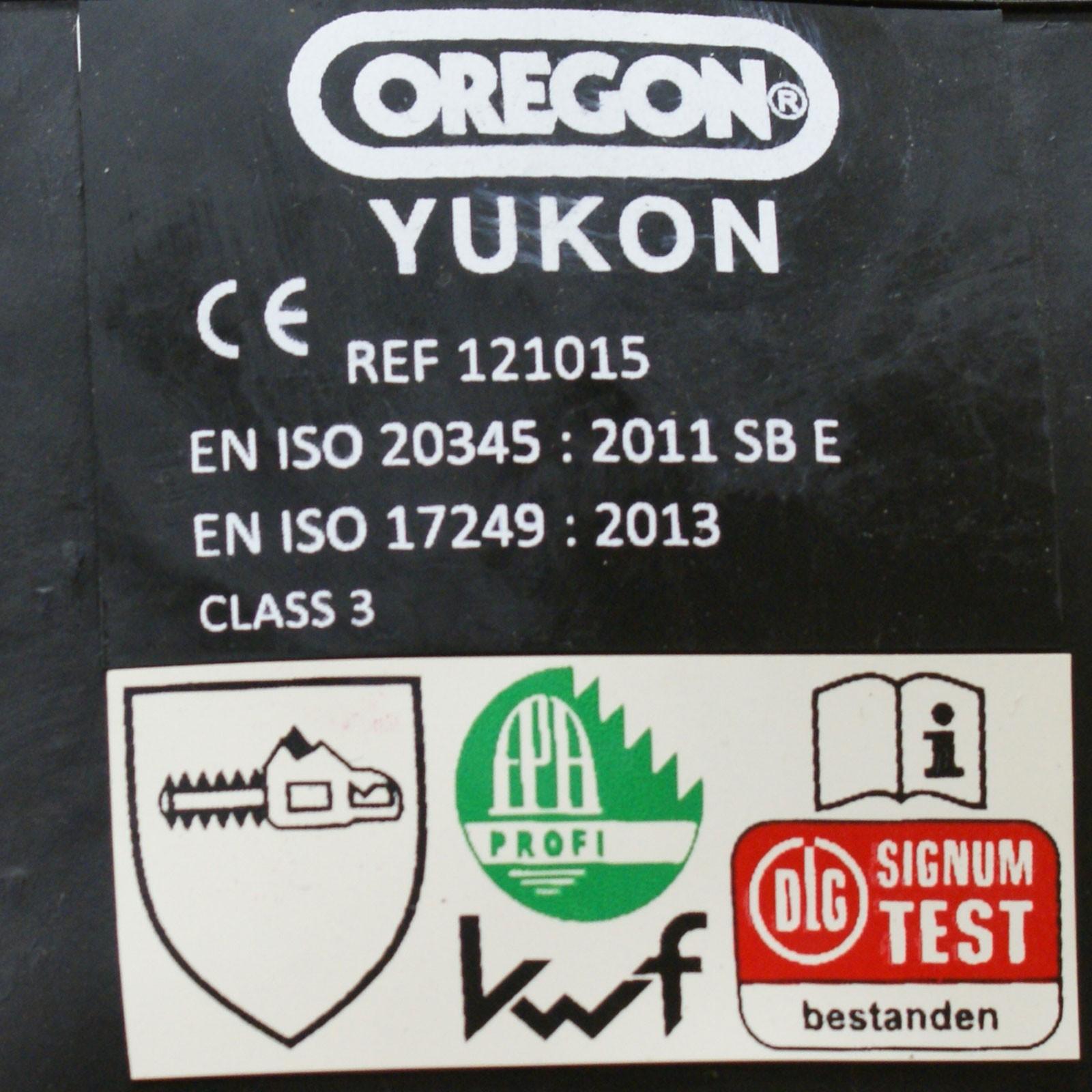 Oregon Kettensäge STIEFEL klasse 1 Schutz 9 günstig kaufen