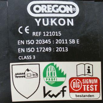 KWF FPA Oregon Schnittschutz-Stiefel YUKON EN 345 Class 3 orange – Bild $_i