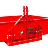 Heckcontainer / Kippmulde Kat 1 + 2 hydraulisch 125x180x40 cm