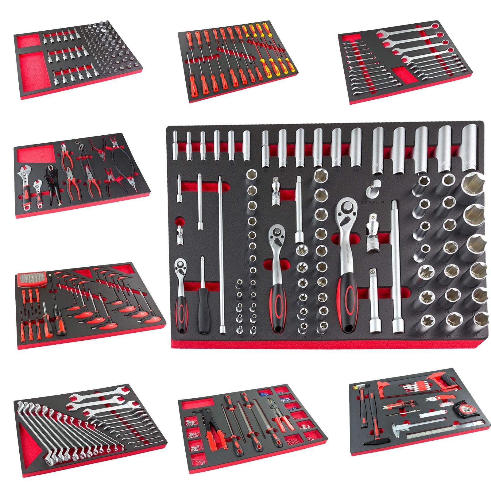 Werkstatt Werkzeugwagen Werkbank Werkzeugset-Modul Auswahl ...
