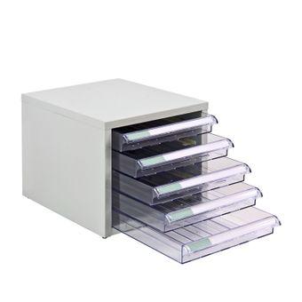 ADB Metall Schubladencontainer / Büro Schubladenschrank mit 5 Schubladen – Bild $_i