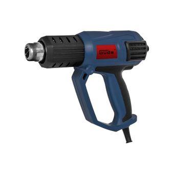 Güde Q9 Heißluftpistole / Heißluftfön HLG 650-2000 LCD – Bild $_i