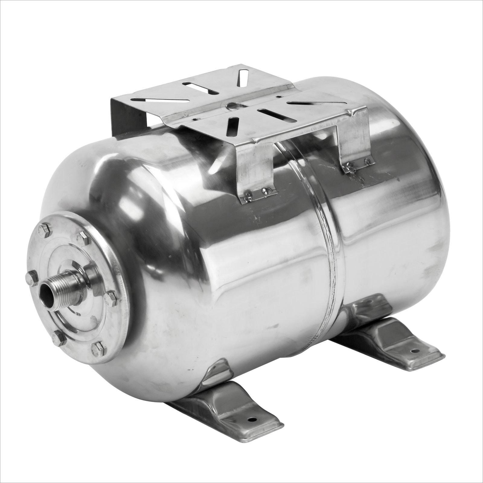 Dema Edelstahl Membran Druckkessel für Hauswasserwerk HWW 24 Liter 6 bar 30441