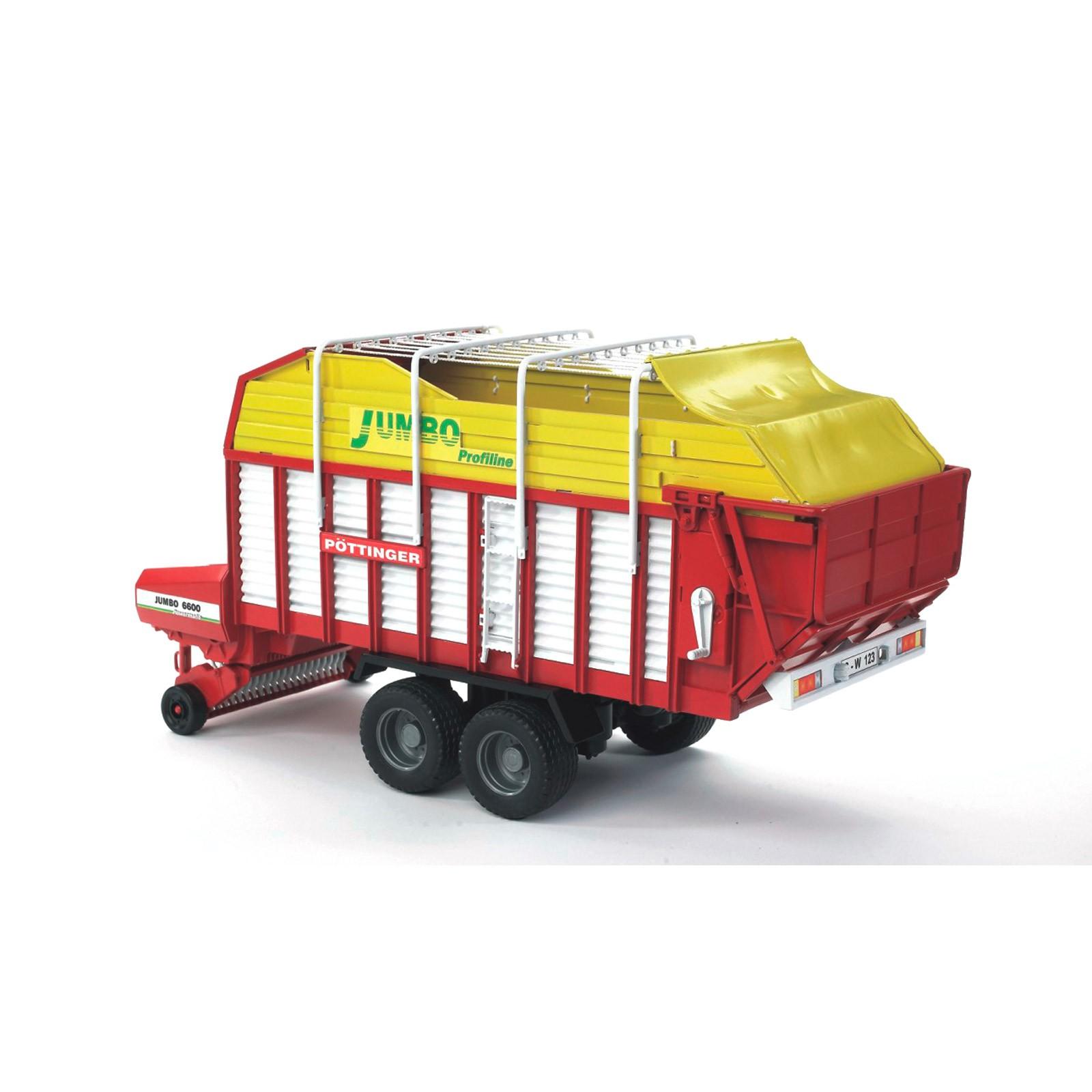 Bruder Spielzeug Ladewagen Pottinger Jumbo 6000 Modellspielzeug