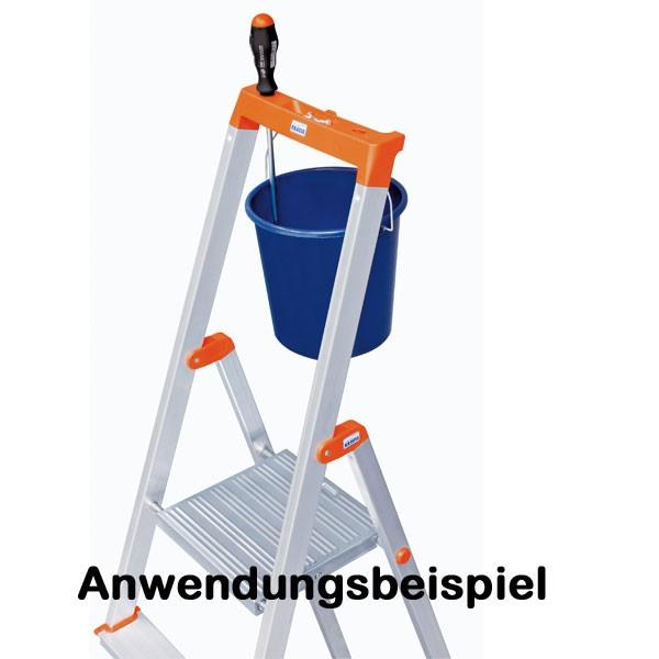Super Krause Monto Alu Stufen-Stehleiter SOLIDY 1x 3 Tritte DIN EN 131 WF19