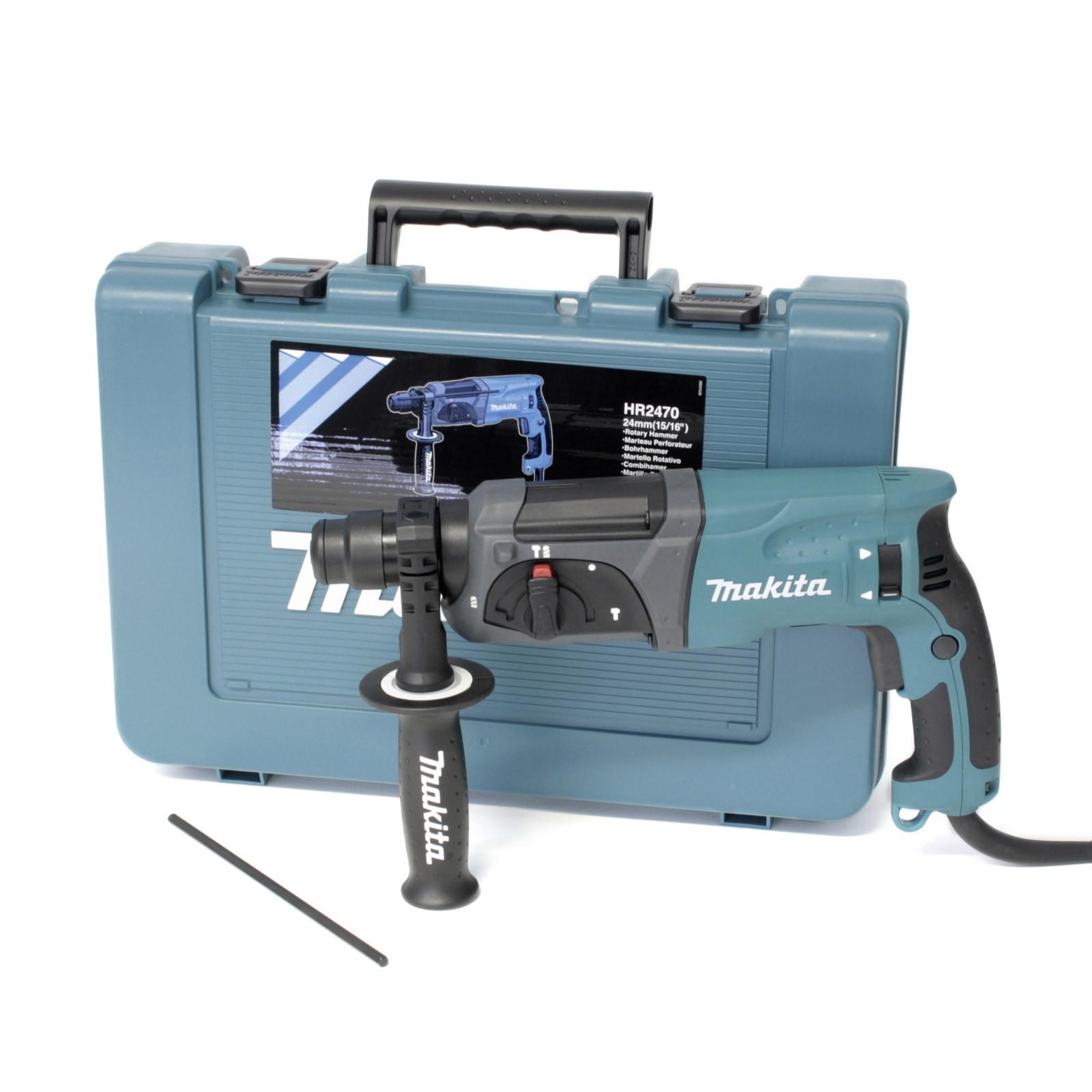Makita Bohrhammer Abbruchhammer HR2470 SDS Plus 24mm 16034