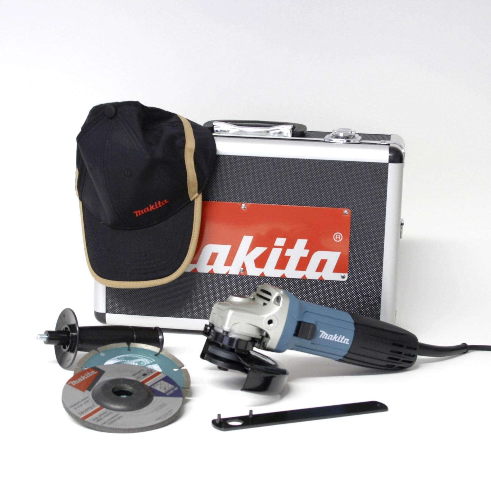 Makita Winkelschleifer Trennschleifer GA5030RSP1 125mm im Koffer 720W 16036