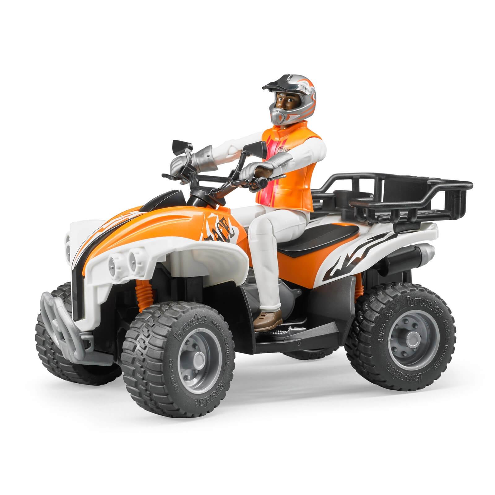 Bruder Quad mit Fahrer - Spielzeugmodell / Spielzeugauto 10343