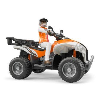 Bruder Quad mit Fahrer - Spielzeugmodell / Spielzeugauto – Bild $_i