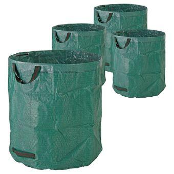Gartenabfallsack / Laubsack 272 Liter, 150gr/qm, 4er Set – Bild $_i