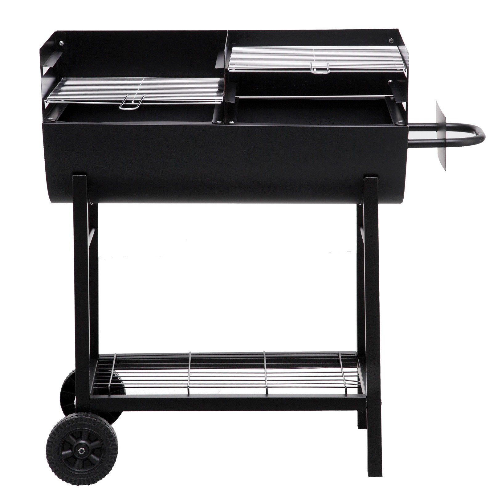 tepro holzkohlegrill grillfass grillwagen kohlengrill lfassgrill grill detroit ebay. Black Bedroom Furniture Sets. Home Design Ideas