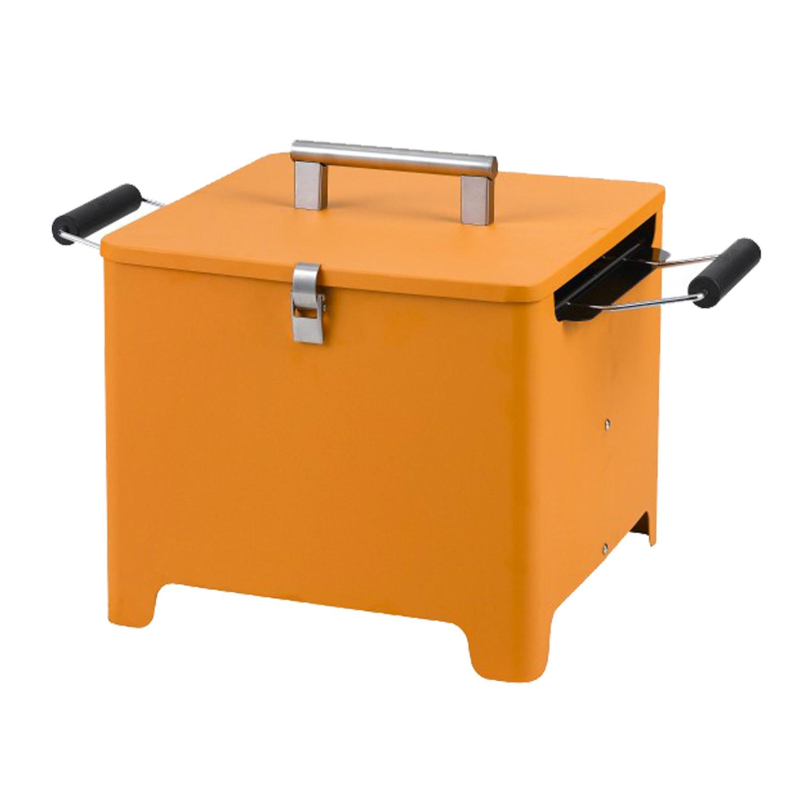 Tepro Chill&Grill Holzkohlegrill Cube orange 1144