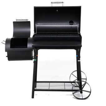Tepro Grillwagen / Garten Barbecue Smoker Grill Biloxi – Bild $_i