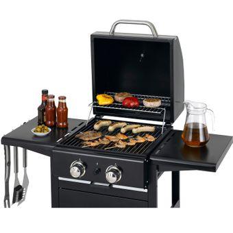Tepro Gasgrill Grillwagen BBQ Grill Campinggrill Partygrill Bloomfield – Bild $_i