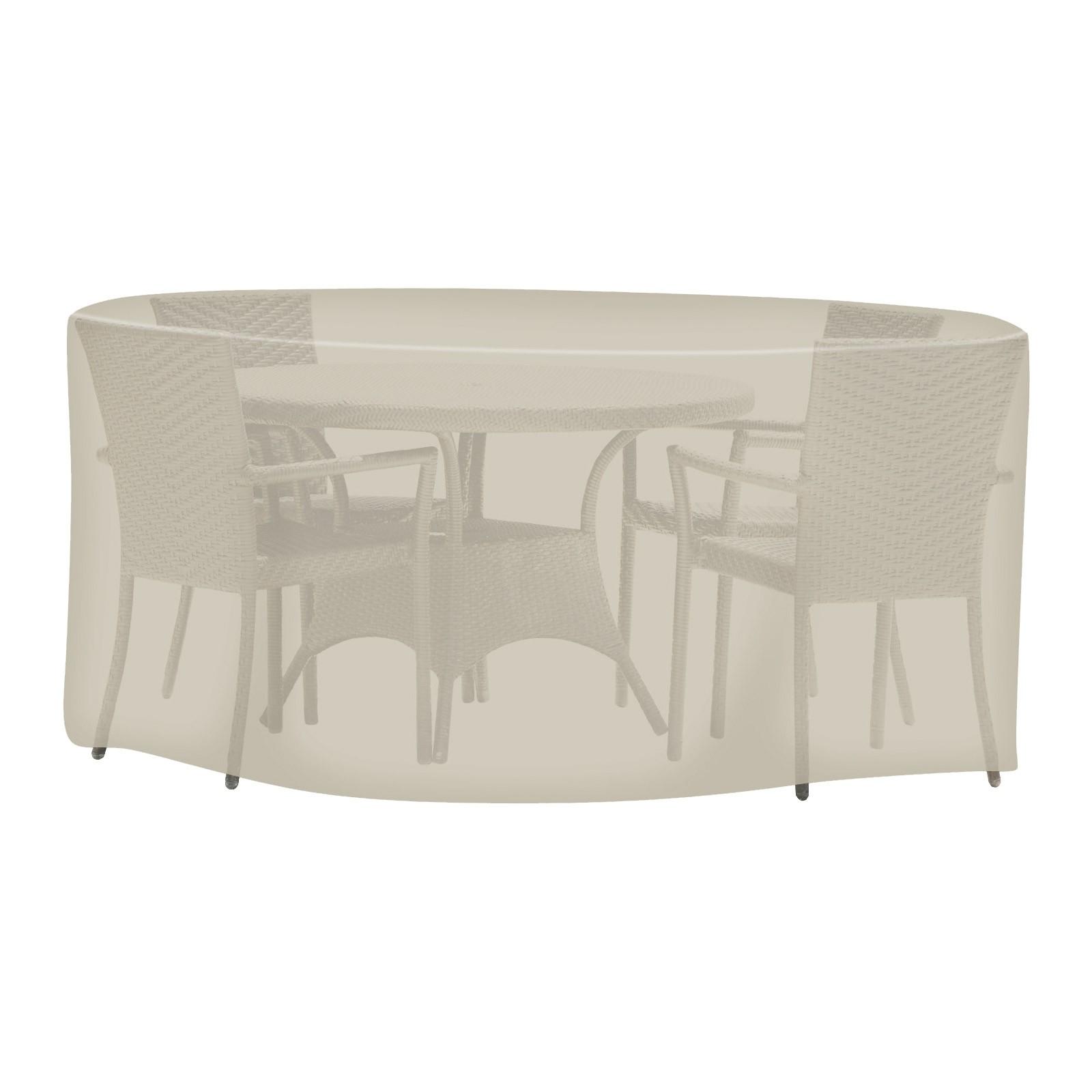 tepro universal abdeckhaube schutzhaube schutzh lle plane sitzgruppe rund gro 4011964086272 ebay. Black Bedroom Furniture Sets. Home Design Ideas
