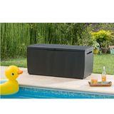 Keter Auflagenbox / Kissentruhe Capri Rattan Style Box 305 Liter