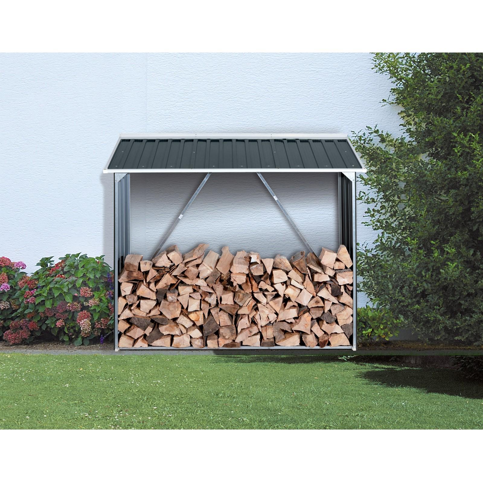 tepro kaminholzregal brennholzregal anthrazit. Black Bedroom Furniture Sets. Home Design Ideas