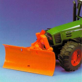 Bruder Räumschild / Straßenräumschild groß orange - 02581