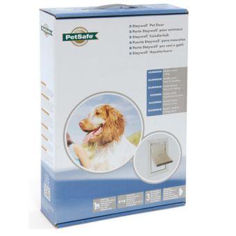 Staywell Hundeklappe / Hundetür Aluminium für mittelgroße Hunde – Bild $_i
