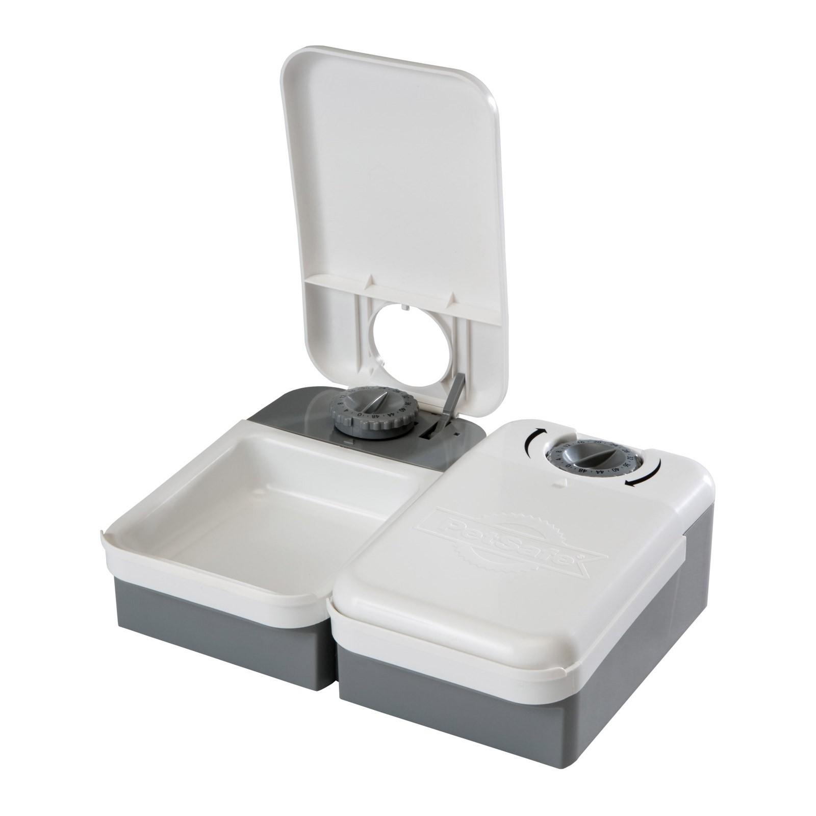 PetSafe Futterautomat / Futterspender für 2 Mahlzeiten PF2-19