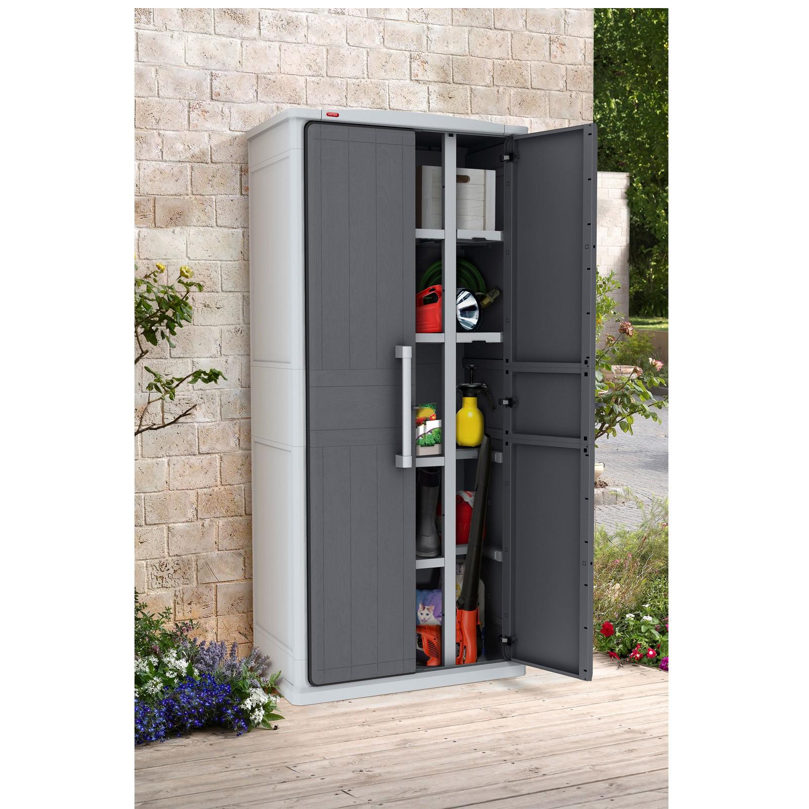 Tepro Gartenschrank Geräteschrank Optima Wonder Cabinet Tall