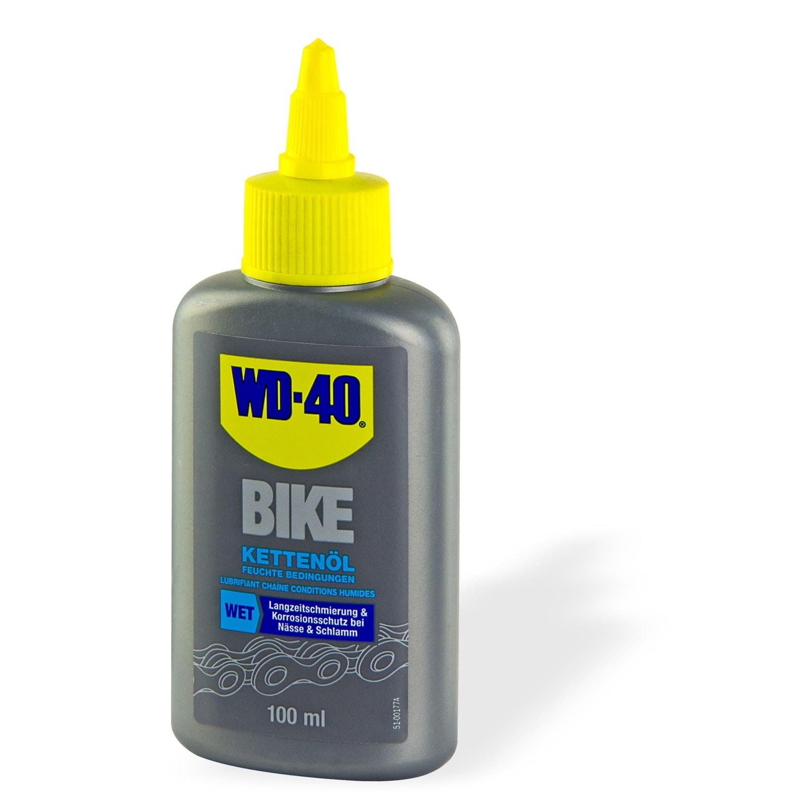 WD-40 Bike Fahrrad Kettenöl Feucht 100ml