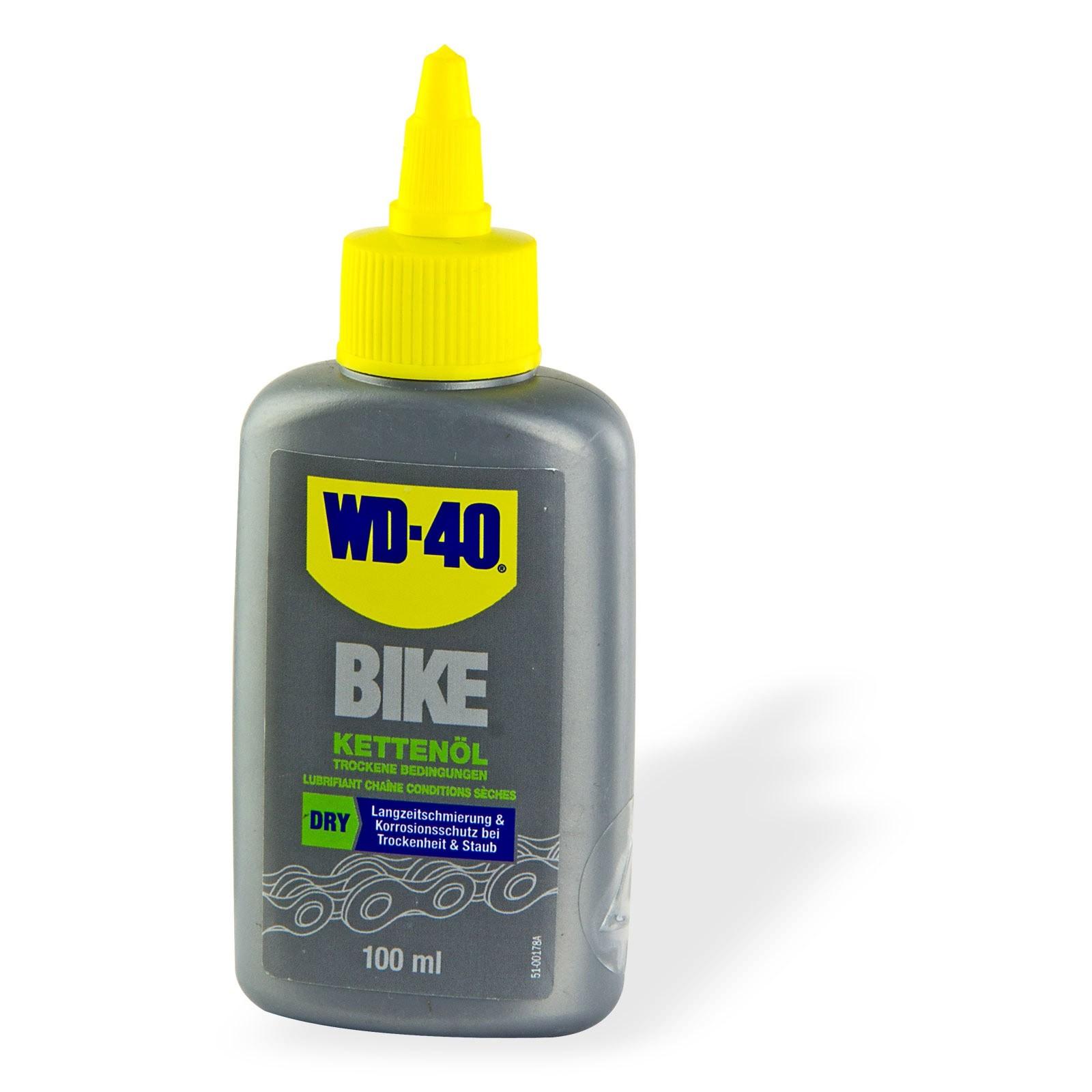 WD-40 Bike Fahrrad Kettenöl Trocken 100ml