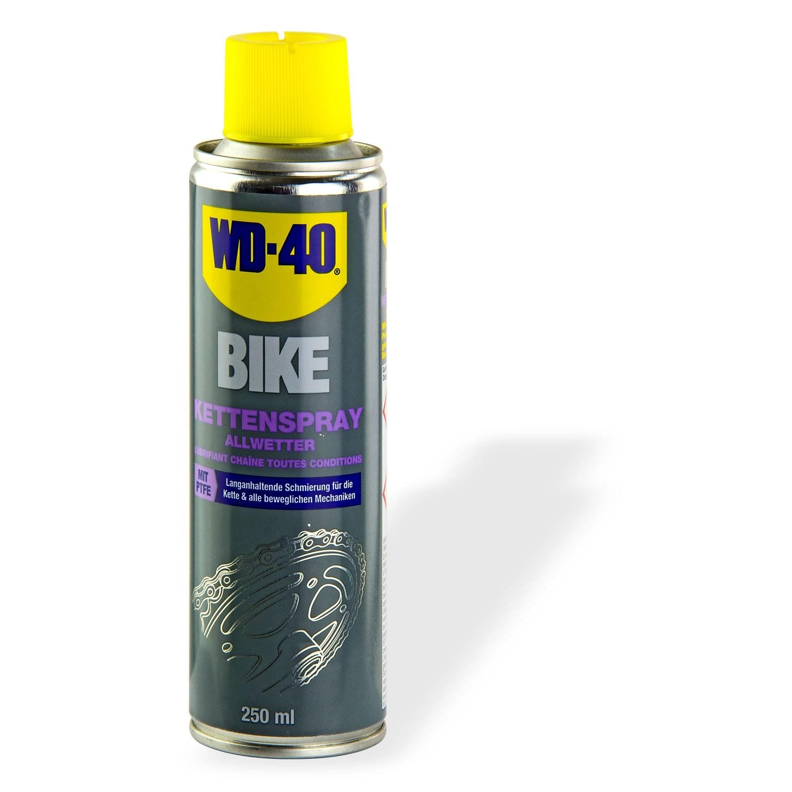 WD 40 WD-40 Bike Fahrrad Kettenspray / Allwetter 250ml 21169