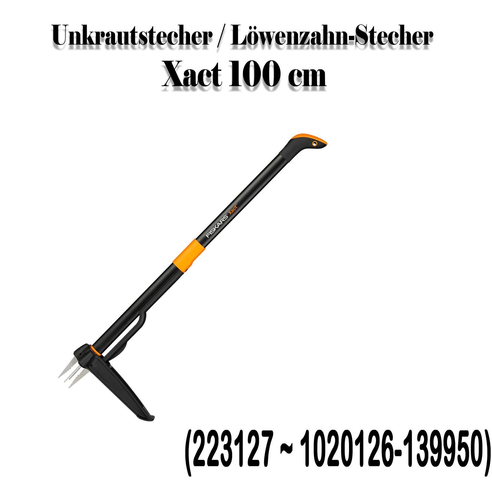 Fiskars Unkrautstecher Löwenzahn-Stecher Auswahl biologische Unkrautbekämpfung 1020126