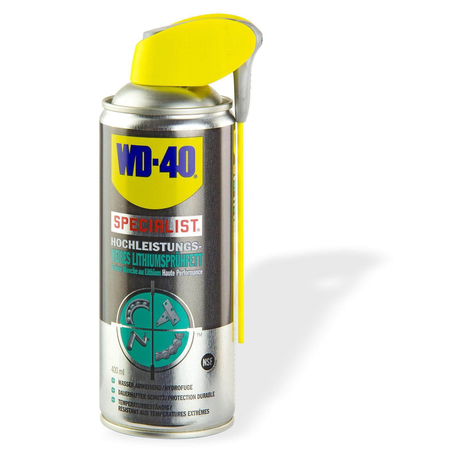 WD 40 WD-40 Weißes Lithiumsprühfett / Sprühfett 400ml 21147