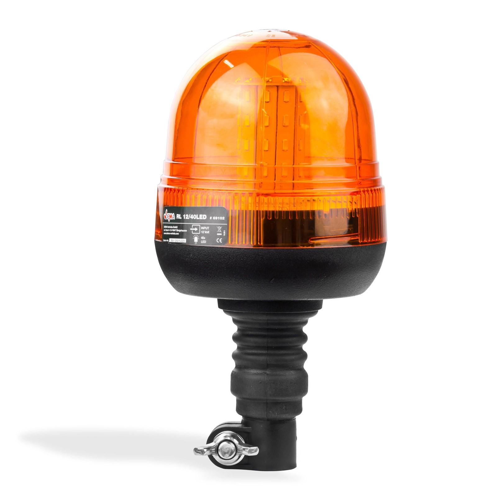 Dema Rundumleuchte / Rundumlicht LED40 12 Volt 40 Leds Ultrahell 69102