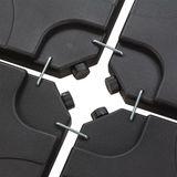 Gewichte für Sonnenschirmständer / Ampelschirm Verona
