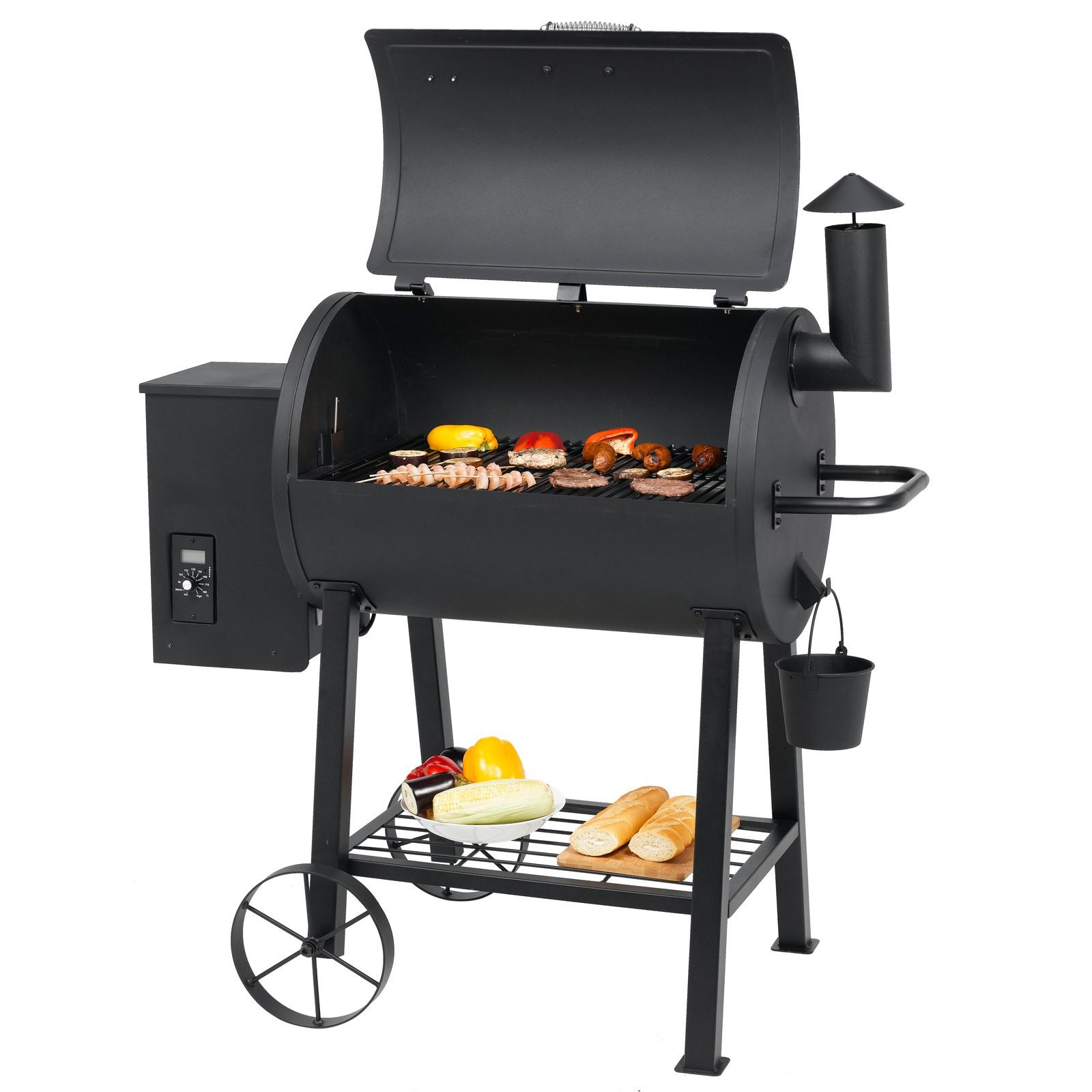 Smoker Grillwagen Tepro Wichita Grill BBQ Grillwagen Smoker mit Thermometer Neu