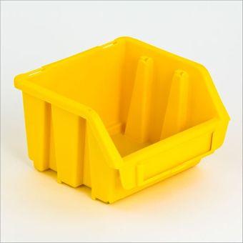 ADB Sichtlagerkasten Größe 1 gelb 116x112x75 mm – Bild $_i