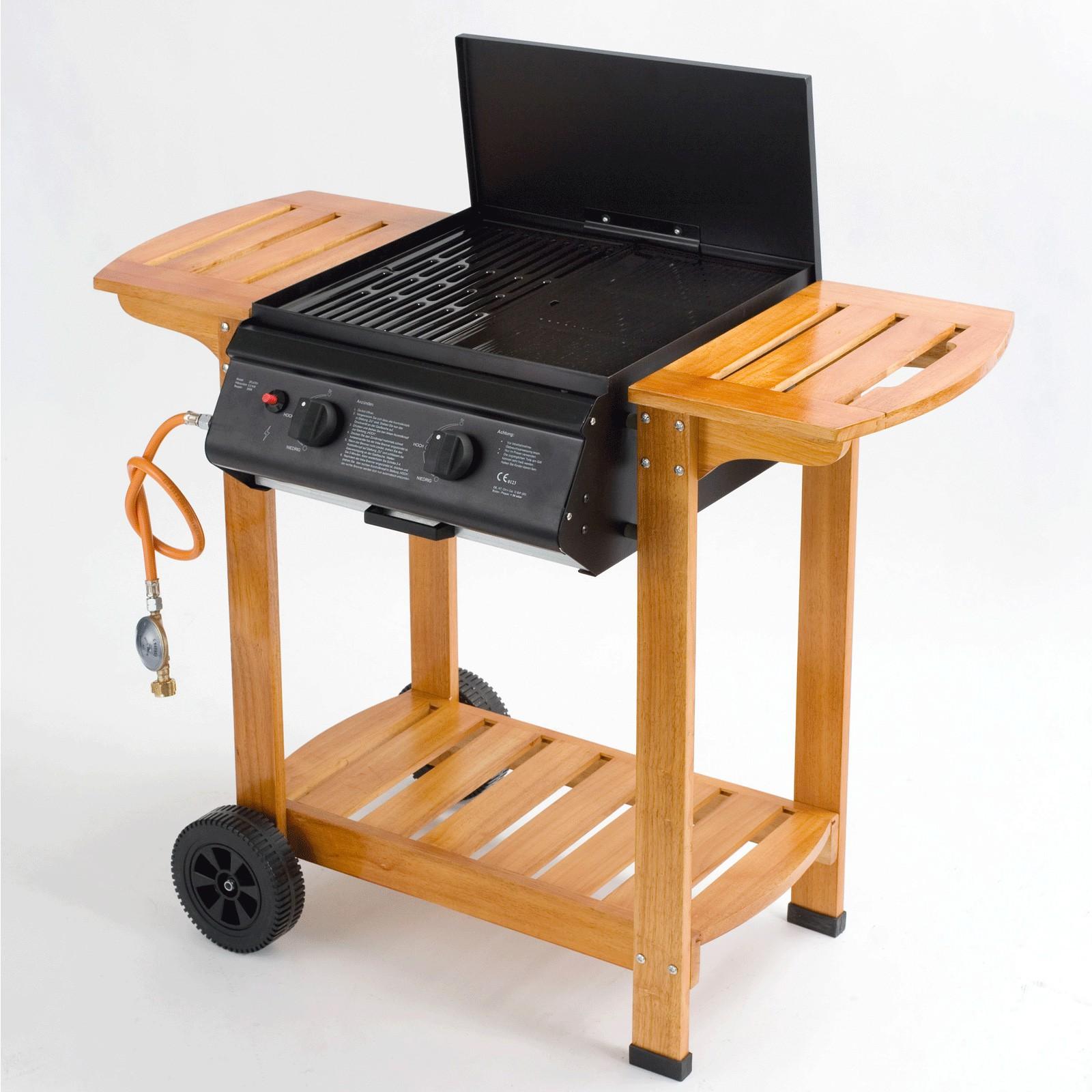 tepro gasgrill pittsburgh grillwagen mit holzgestell. Black Bedroom Furniture Sets. Home Design Ideas