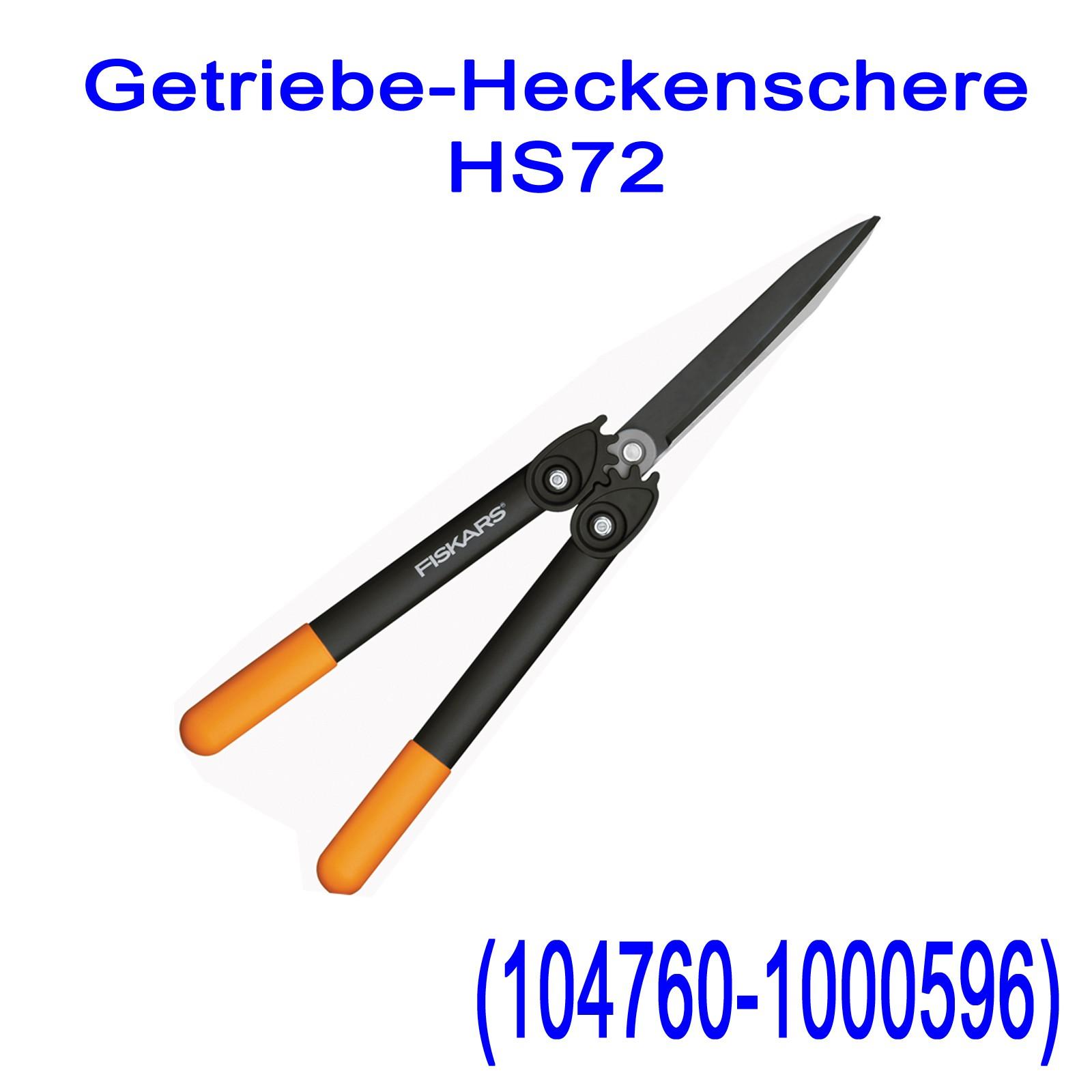 Fiskars Heckenscheren PowerGear SmartFit HS72 HS86 HS92 Auswahl Strauchscheren var-fisk-heckenscheren