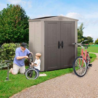 Keter Gartenhaus / Kunststoff-Gerätehaus Factor 6x3 – Bild $_i