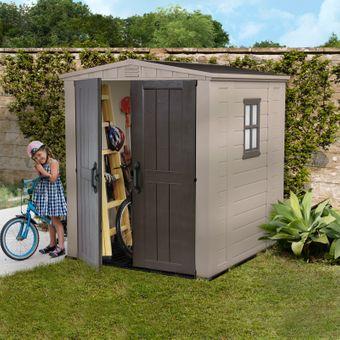 Keter Gartenhaus / Kunststoff-Gerätehaus Factor 6x6 – Bild $_i