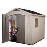 Keter Kunststoff-Gerätehaus / Gartenhaus Factor 8x8