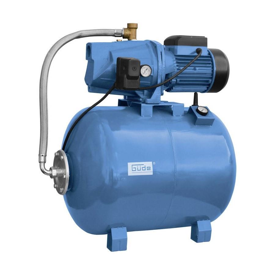 Güde Hauswasserwerk HWW 2100 G mit 100l Druckkessel Automat Wasser Haus Pumpe 94173