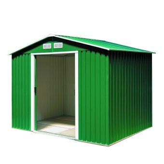 Tepro Gartenhaus / Metall-Gerätehaus Titan 8 x 6 grün – Bild $_i