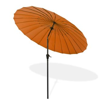 Sonnenschirm / Sonnenschutz Tokio rund Ø 2,5 m terracotta – Bild $_i